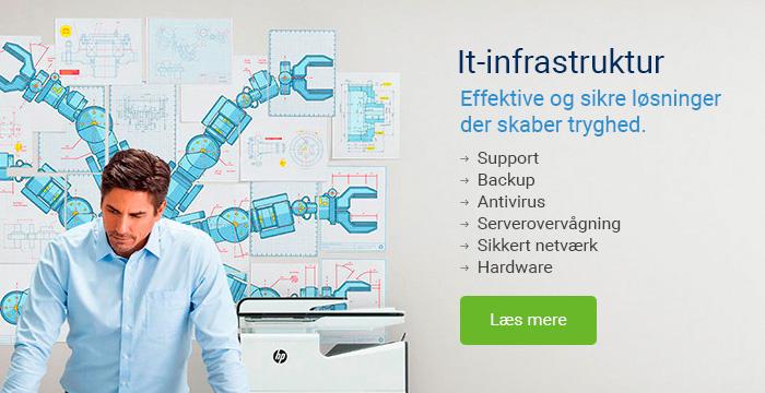 It-infrastruktur Backup Antivirus Support Hardware Systemcenter Randers