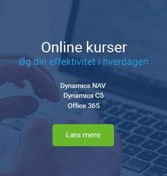 Online kursus i NAV C5 Office 365 Systemcenter Randers