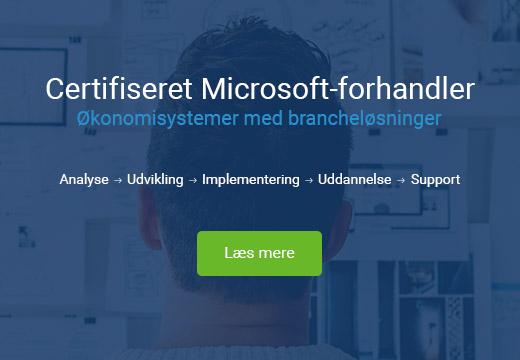 ERP Økonomisystem Microsoft C5 NAV 365 Systemcenter Randers