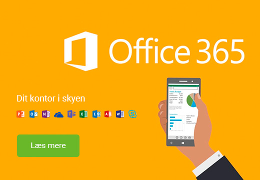 Office 365 leverandør Systemcenter Randers