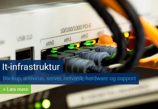 It-infrastruktur Systemcenter Randers