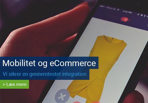 Mobilitet eCommerce B2B Webshop Systemcenter Randers