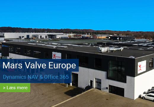 Mars Valve Europe Office 365 reference