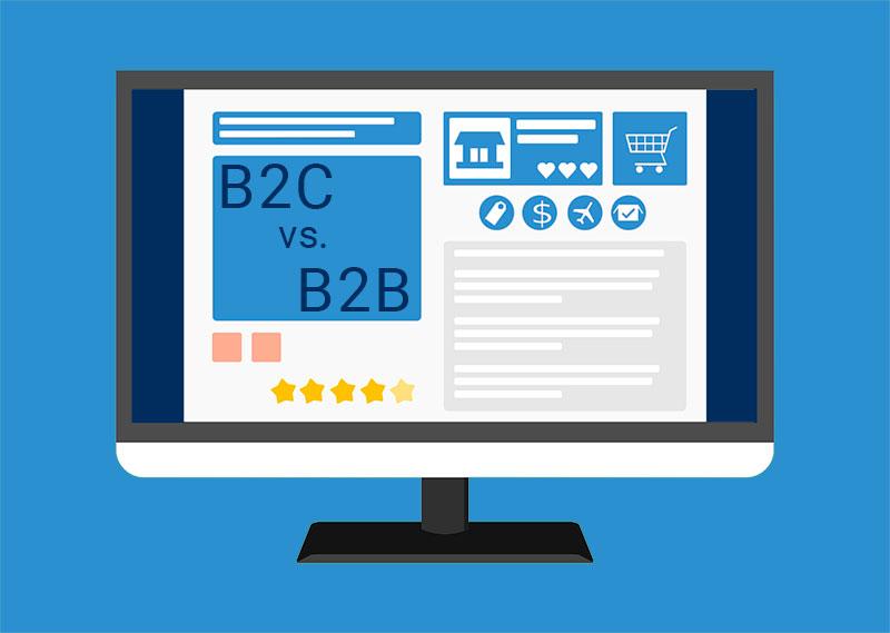 B2C vs. B2B Ecommerce