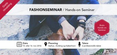 Fashionseminar Systemcenter Randers taler