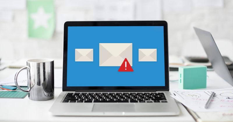 Identificer spam virus e-mail