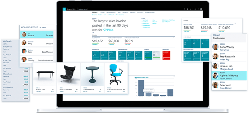 Dynamics 365 Business Central Leverandør