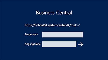Business Central Login