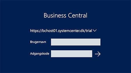 Business Central Login