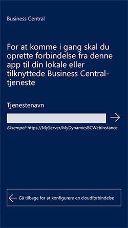 Kom i gang Business Central