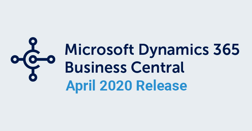 Business Central April 2020